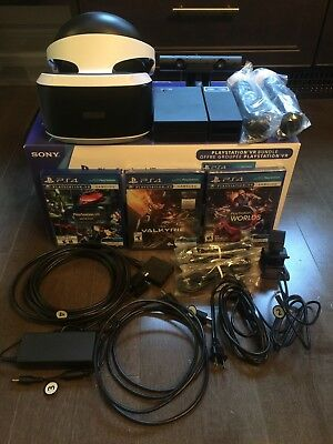 Sony PlayStation VR Worlds Bundle Edition and more! - Used - Mint Condition
