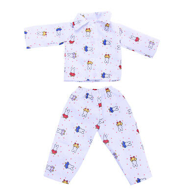 Dolls Pajamas Sleepwear Clothes Fit 18'' Our Generation American Girl Doll#F