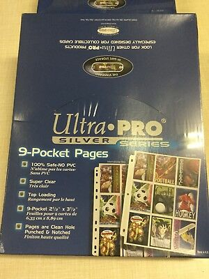 Ultra Pro Platinum Series 100 Pagine Hologram Pages Nuovo Sigillato