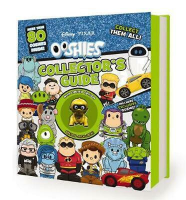 Disney Pixar Ooshies Collector's Guide Hardcover Book Free Shipping!