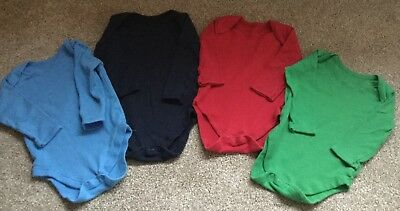 Baby Boy or Girl 6-9 Months 5 pack Long Sleeved T-shirts / Vests  Matalan