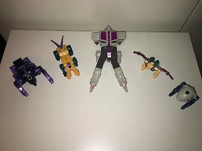 Transformers G1 Hasbro 1985 - 5 Terrorcons Abominus —TOP—