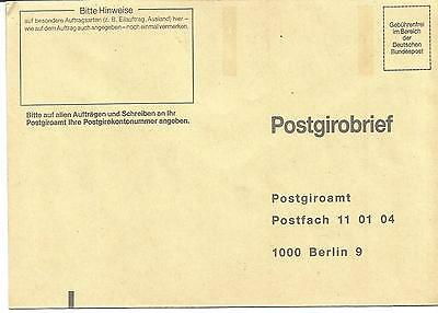 Postgirobrief Postgiroamt Berlin (West)