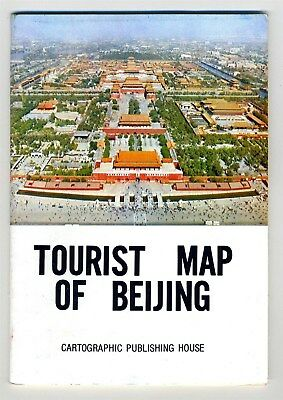 Pictorial Tourist Map of Beijing China Cartographic Publishing House