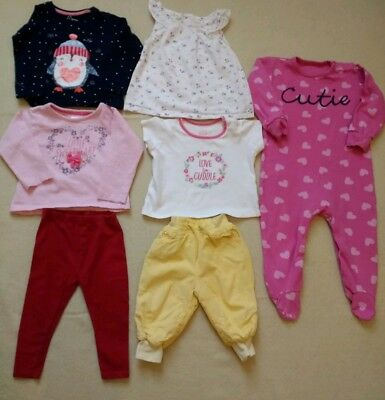 12-18,18-24 Months Baby Girls Clothing Bundle. Great condition. Matalan Baby H&M