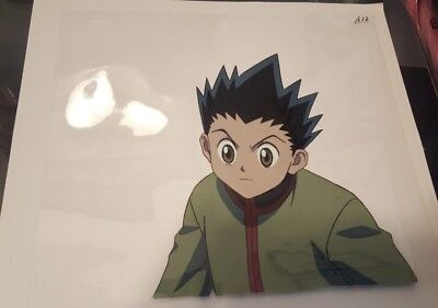 Hunter x Hunter Gon Freecss Anime Cel and Genga Original Key Animation HxH