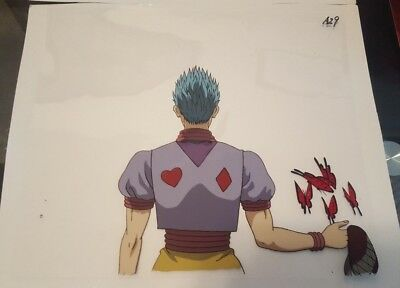 Hunter x Hunter Hisoka Anime Cel and Genga Original Key Animation HxH