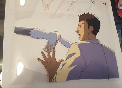Hunter x Hunter Leorio Anime Cel and Genga Original Key Animation HxH