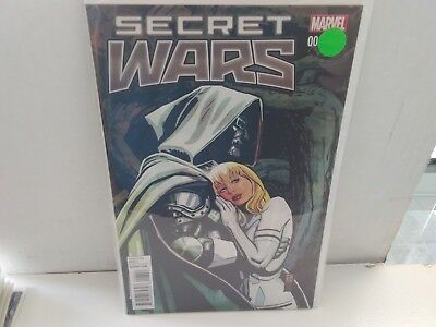 Secret Wars #3 (August 2015, Marvel) Variant Dr. Doom