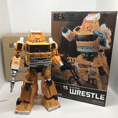 WRESTLE Maketoys RE:Master MTRM-05 Masterpiece Transformers Grapple TOP