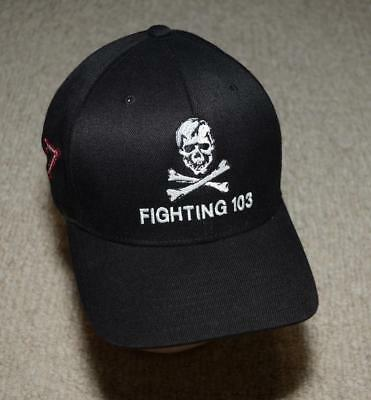 VFA-103 VF-103 Jolly Rogers F-14 Tomcat F/A-18 Hornet Fighter Squadron Hat -L/XL