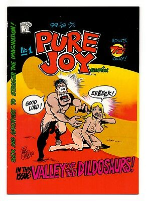 Pure Joy - 1975 Underground Comix with a Vibe! - Icelandic Codpiece! VF 8.0
