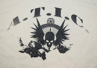 Military Free-Fall Advanced Tactical Infiltration Course ATIC SOF HALO Shirt -LG