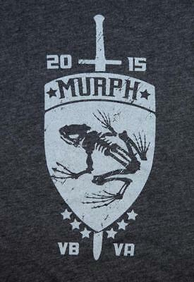 Forged 2015 Murph Challenge SEAL Michael Murphy Red Wings Benefit Shirt - SMALL