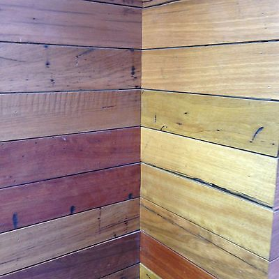 Hardwood Timber Wall Panelling / Rustic Feature Walls.