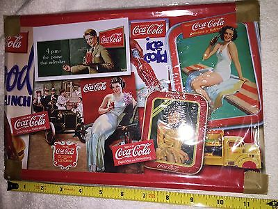 Coca Cola New Tin Sign 8 By 12 Inches Assortment Of Trays And Signs Nice Looking