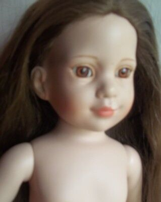 MAGIC ATTIC  club DOLL brunette HEATHER flawed for parts or repair TONNER