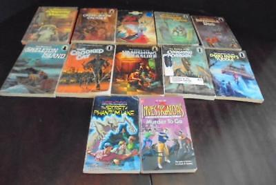 Alfred Hitchcock Three 3 Investigators 12 Book Lot Keyhole PBs Crimebusters More