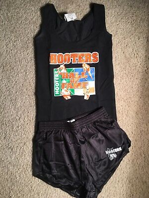 Authentic XXSmall Shirt and Small Shorts Hooters Uniform.