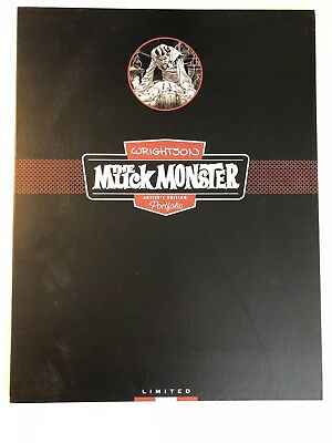 Berni Wrightson Muck Monster, limited edition, signed + numbered