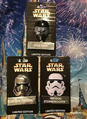Disney Star Wars Pin of the Month Helmet Imperial Stormtrooper Standee LE 4000
