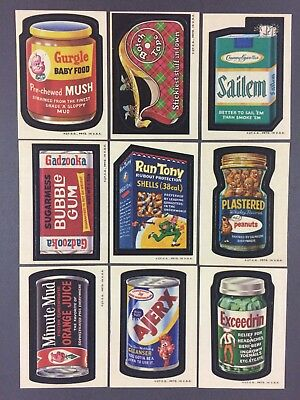 1973 Topps Wacky Packages 2nd Series Near Complete Set Lot (30/33)