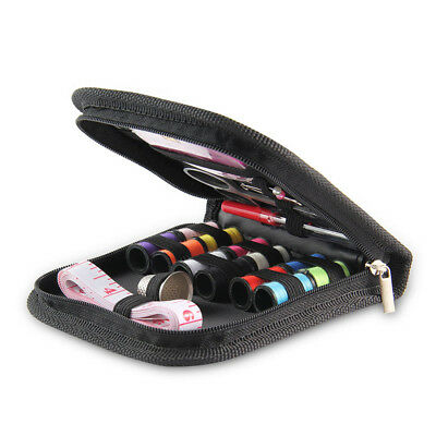 Mini Beginner Sewing Kit Case Set Supplies Adults Kids Home Travel Campers Home