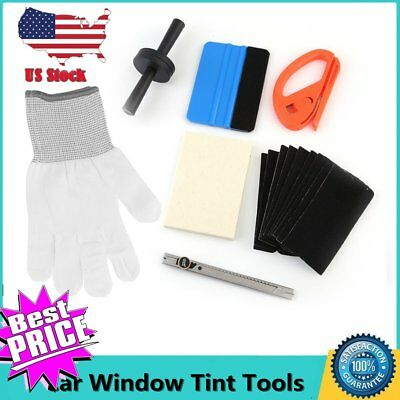 PRO Car Wrapping Tools Kit, Car Window Tint Squeegee Vinyl Film Installation NEW