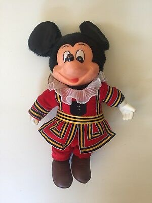 """Vintage Mickey Mouse YOUNG EPOCH 10"""" Doll Walt Disney Japan"""