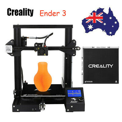 Creality 3D Ender 3 + Borosilicate Glass 235mm x 235mm DC 24V AU Stock