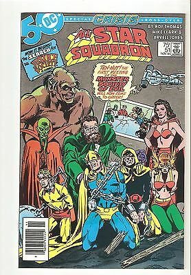 All-Star Squadron 51 NM+ 55 VFNM 64 NM-  (1985-6) Justice Society Crisis x-overs