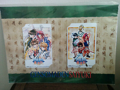 Gensomaden Saiyuki - Collectable Card Set - Officially licensed item