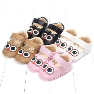 Toddler Infant Kids Baby Boys Girls Cartoon Own Anti-slip Cute Soft Sole Shoes