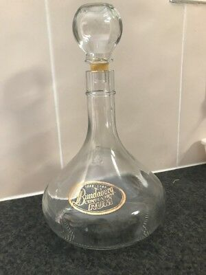 Bundy, Bundaberg Rum Decanter