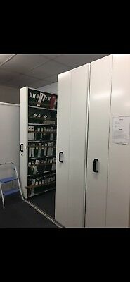 Compactus Storage - Large 6 Bay Lockable with Rolling Bays