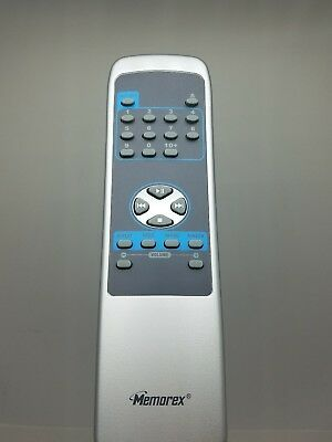 Original MEMOREX KF20136 Remote Control (Silver) Replacement FREE SHIPPING