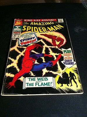 Amazing Spider-Man Annual #4 Awesome Silver Age Comic !