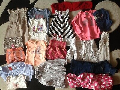 bundle of summer clothes girl 3-4 age