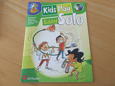 Kids Play Easy Solo... für Altsaxophon inklusive CD