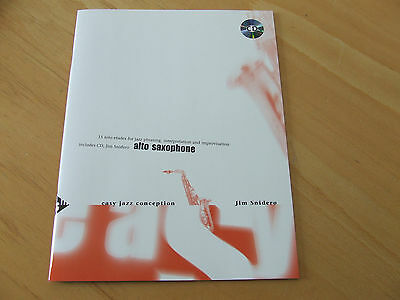 Easy Jazz Conception Jim Snidero für Altsaxophon inklusive CD