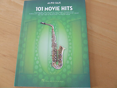101  Movie Hits für Alto Sax