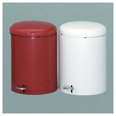 Witt 2-Piece 4 Gallon Step On Trash Can Set