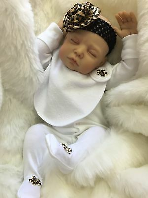 "Cherish Dolls New Reborn Doll Baby Aria Fake Babies Realistic 22"" Newborn Girl"