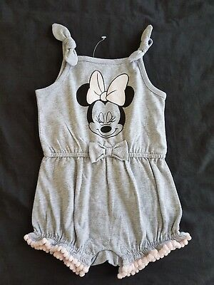 Girls new MINNIE MOUSE playsuit size 0