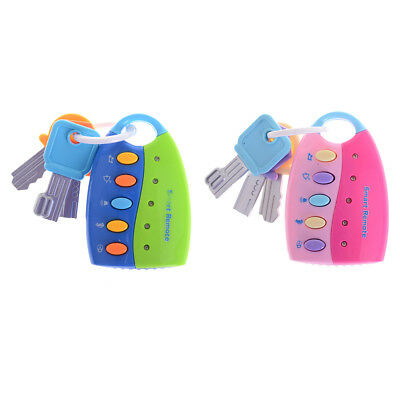 Baby Toy Musical Car Key Toy Smart Remote Car Voices Pretend Play Education XBUK