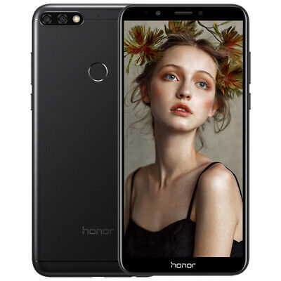"""5.99"""" Face ID Huawei Honor 7C 4G Téléphone 3+32Go Android8.0 8*CORE Smartphone"""