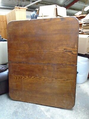 Wind Out Table Top Only 5 X 4 3 Oak Antique Farmhouse Kitchen