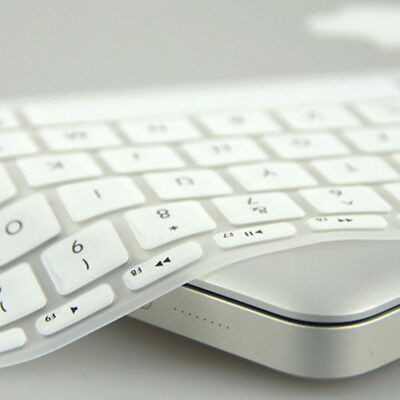White Silicone Keyboard Cover Protect Skin Film For MacBook Pro Retina 15""