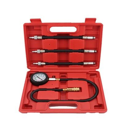 Automotive Cylinder Compression Tester Kit For Petrol Engine Car Diagnostic Tool
