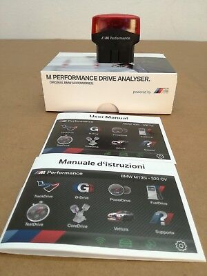 """61432450841 Drive Analyser iOS & Android """"M PERFORMANCE"""" -ORIGINALE- BMW"""